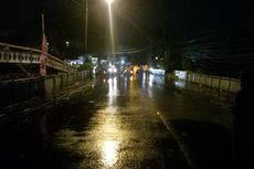Sungai Ciliwung Meluap, Akses Jalan di Jembatan Situ Duit Bogor Ditutup Sementara