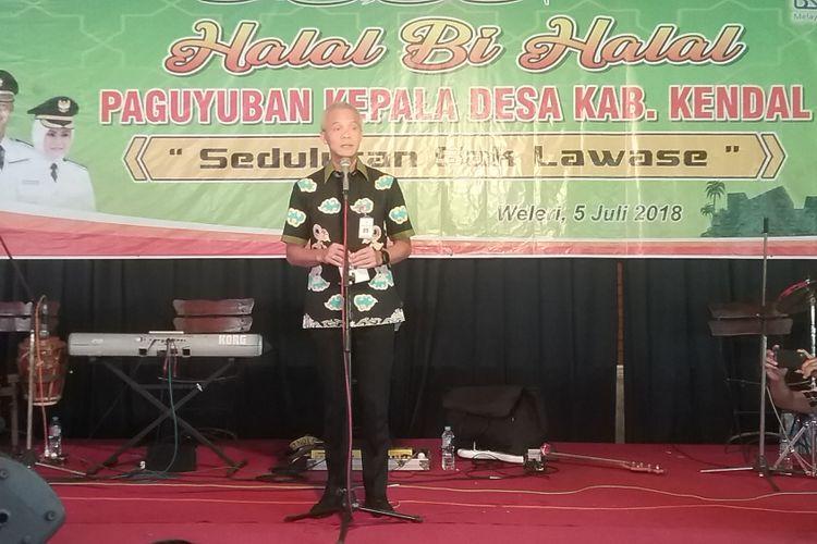 Gubernur Jawa Tengah Ganjar Pranowo, Kamis (5/7/2018).