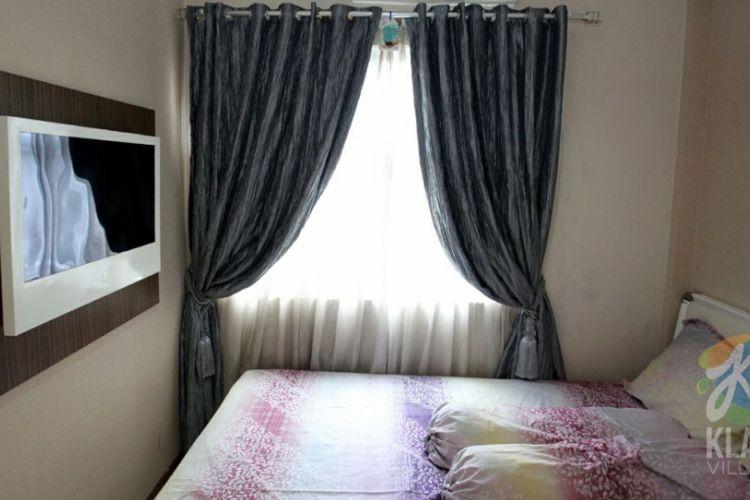 Contoh ruang tidur utama rumah DP 0 rupiah tipe 36.