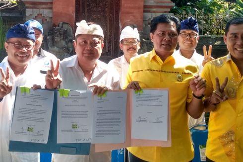 Tolak Reklamasi Teluk Benoa, Cagub Bali Mantra-Kerta Bersurat ke Jokowi