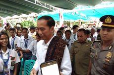 Pelajar Tunanetra Ini Minta Sepeda Ditukar Laptop ke Jokowi...