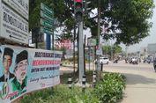 Masuk Musim Kampanye, Spanduk Jokowi-Ma'ruf Menjamur di Palembang