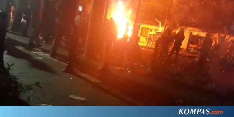 Fasilitas Pos Polisi Sabang Dibakar, CCTV Dihancurkan