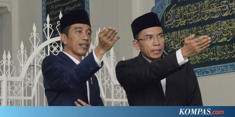 Soal Peluang Tgb Jadi Cawapres Jokowi Ini Kata Sekjen Pdi P Kompas Com