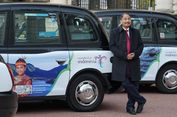 Taksi 'Wonderful Indonesia' Ramaikan Jalanan Kota London