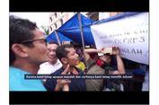 VIDEO: Respons Sandiaga Uno Saat Ditolak Kedatangannya di Labuhanbatu