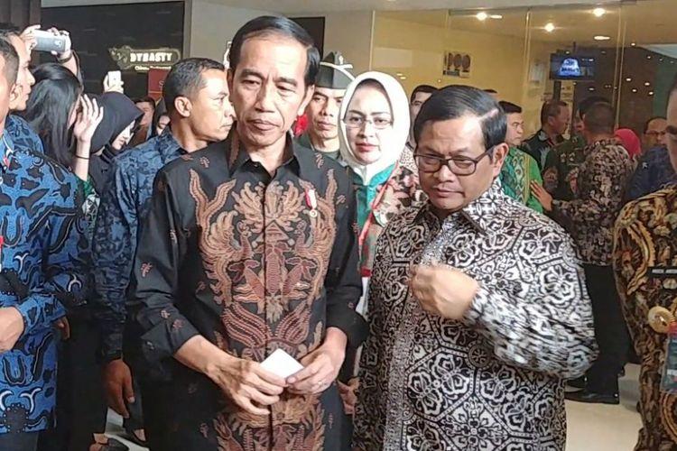 Presiden Joko Widodo hadir dalam rakernas Apeksi di Malang, Kamis (20/7/2017).