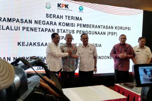 KPK Resmi Serahkan Aset Rampasan Koruptor Sekitar Rp110 Miliar ke Kejagung dan BNN