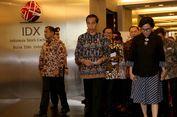 Presiden Jokowi Akan Tutup Perdagangan Saham 2017 di BEI Sore Ini
