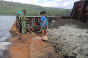 Tongkang Bermuatan Batu Bara Terdampar di Perairan Pulau Seram