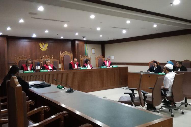 Sidang vonis Mantan Anggota DPRD Sumatera Utara Ferry Suando Tanuray Kaban