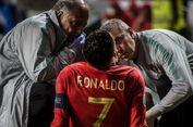 Cedera Saat Portugal Vs Serbia, Cristiano Ronaldo Tak Khawatir