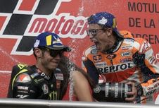 [POPULER OTOMOTIF] Persaingan Marquez, Rossi, dan Lorenzo