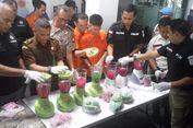 Melihat Tahanan Narkoba Musnahkan Sabu dan Ekstasi Hasil Kejahatannya...