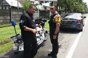 Pengendara Moge di Jalan Tol Bawa Harley Temannya Tanpa Izin