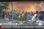 Pukul 19.23, Massa Rusuh di Bawaslu Lempar Botol, Api Dipadamkan