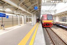 KRL dari Stasiun Tebet Menuju Cawang Kembali Beroperasi