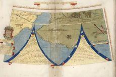 Peta Dunia Jaman Renaisans Dirilis, Ini Keunikannya