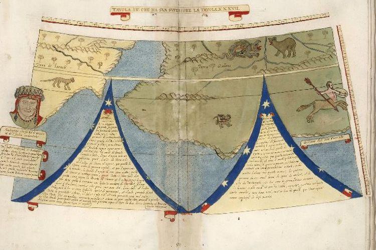 Peta Kuno Monte - David Rumsey