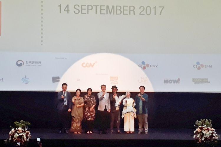 Korea Indonesia Film Festival (KIFF) 2017 resmi dibuka di CGV Grand Indonesia, Jakarta Pusat, Kamis (16/9/2017).