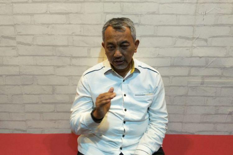 Calon Wakil Gubernur DKI Jakarta, Ahmad Syaikhu di Kantor Asyikpreneur, Kota Bekasi, Rabu (6/3/2019).