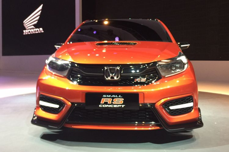 Honda  meluncurkan konsep terbarunya, Small RS Concept di IIMS 2018.