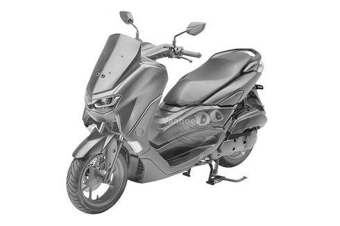 Gambar Generasi Baru Yamaha Nmax Bocor