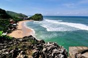 SBY Kagumi Pantai Pulang Sawal atau Indrayanti di Gunungkidul