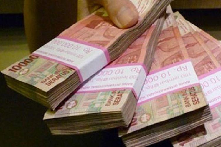 Ilustrasi uang.