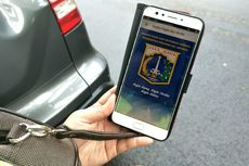 Keliling Kompleks Cari Penunggak Pajak Kendaraan Pakai Aplikasi BPRD
