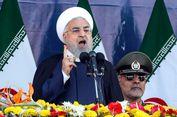 Presiden Iran Bersumpah Bakal Membalas Serangan saat Parade Militer