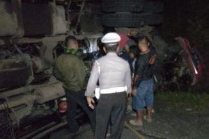 Truk yang Menewaskan Satu Keluarga Tak Bisa Menanjak akibat Kelebihan Beban