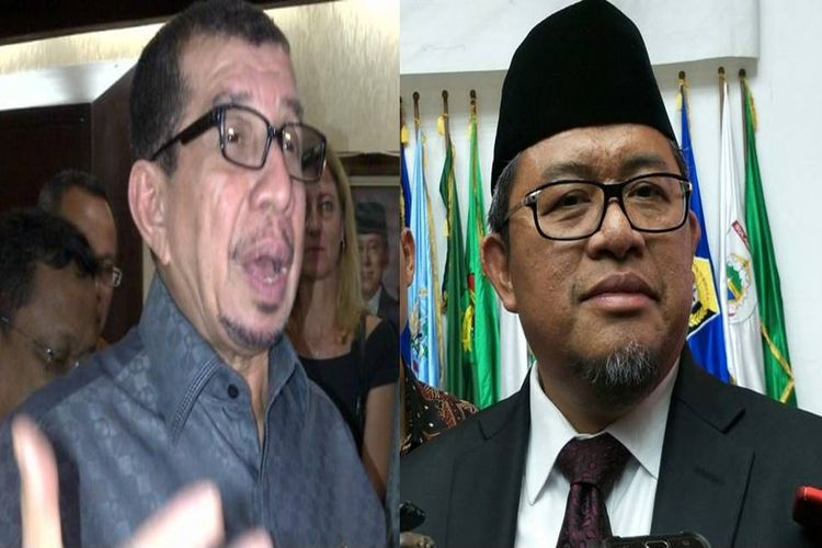 Salim Segaf Al-Jufri dan Ahmad Heryawa, dua kader PKS yang digodok Gerindra untuk menjadi cawapres Prabowo.