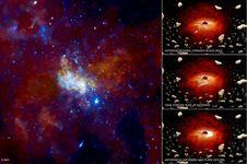 Langka, Lubang Hitam Supermasif Tertangkap 'Bersendawa' Dua Kali