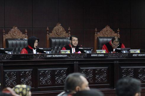 Tak Konsentrasi hingga Selip Lidah, Ketua MK Mengaku Lapar