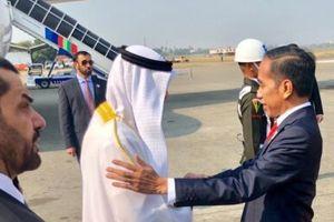 Jokowi Ajak Pangeran Abu Dhabi ke Bundaran HI, Tunjukkan Pesatnya Pembangunan