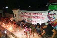 Tuntut Ahok Dibebaskan, Ratusan Warga NTT Gelar Aksi Bakar 1.000 Lilin