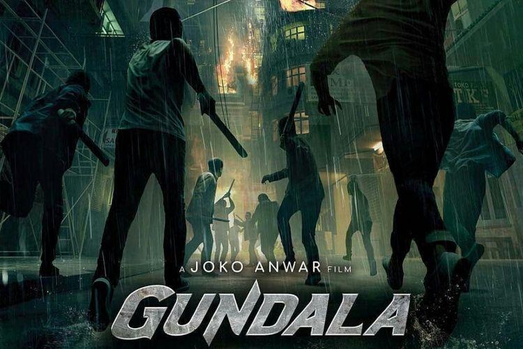 Poster film Gundala, yang disutradarai oleh Joko Anwar