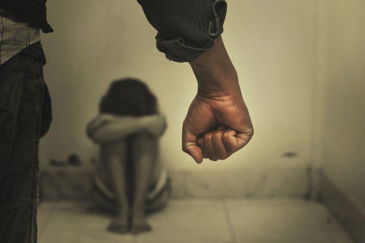 Ilustrasi kekerasan dalam rumah tangga.
