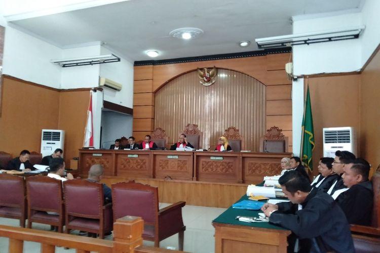 Saksi Chairullah dan Harjono bersaksi dalam persidangan kasus penyebaran berita hoaks Ratna Sarumpaet, Kamis (11/4/2019)