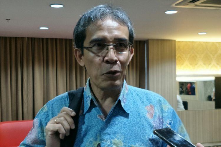 Pendiri sekaligus penasehat Constitutional and Electoral Reform Center (Correct), Hadar Nafis Gumay ketika ditemui di D Hotel, Jakarta, Selasa (29/5/2018).