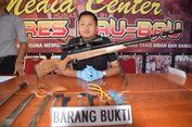 Diduga Akan Bikin Kerusuhan, Empat Orang Pembawa Sejumlah Senjata Dibekuk Polisi
