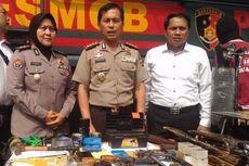 Polisi Bongkar Pabrik Senpi Rakitan di Kota Metro, Dijual Rp 7 Juta Per Pucuk