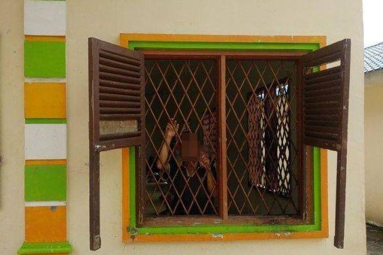 Pasien Panti Rehabilitasi Jiwa Minyak Narwastu, Jalan Sibatubatu, Kota Pematangsiantar.
