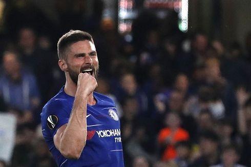Giroud Tak Segan Sakiti Arsenal di Laga Final Liga Europa