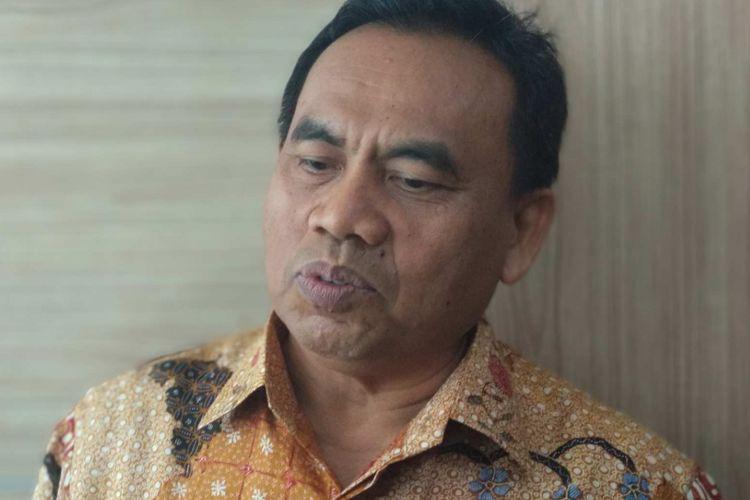 Sekretaris Daerah DKI Jakarta Saefullah di Balai Kota DKI Jakarta, Kamis (22/2/2018).