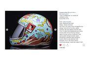 Helm Custom 'Jokowi' Dibanderol Rp 6 Juta, Gibran Tak Jadi Beli...