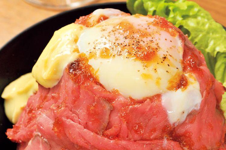 Restoran Gou Stand di Tokyo, Jepang ini terkenal dengan hidangan roast beef dan steak-nya. Daging sapi australia pilihan ini dimasak dengan menggunakan api kecil sehingga tekstur daging sapi menjadi lembut.
