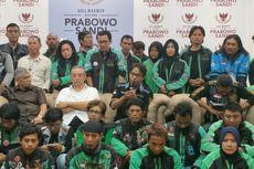 Kecewa dengan Presiden Jokowi, Komunitas Ojek Online Dukung Prabowo