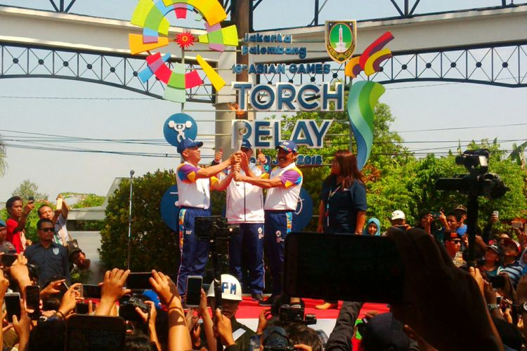 torch relay solo